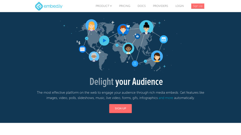 Embedly Landing Page