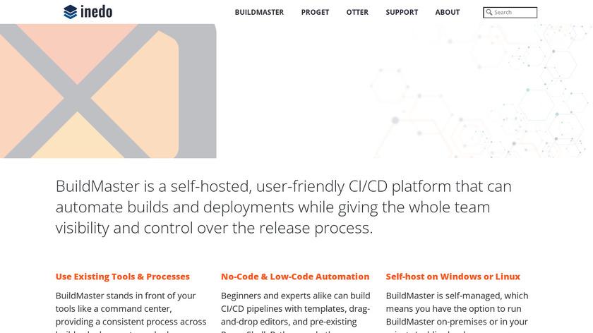 BuildMaster Landing Page
