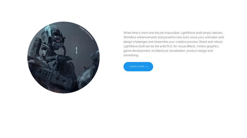 newtek.com LightWave 3D Landing Page