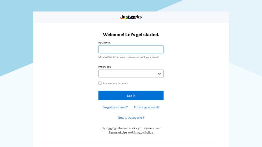 Justworks Landing Page
