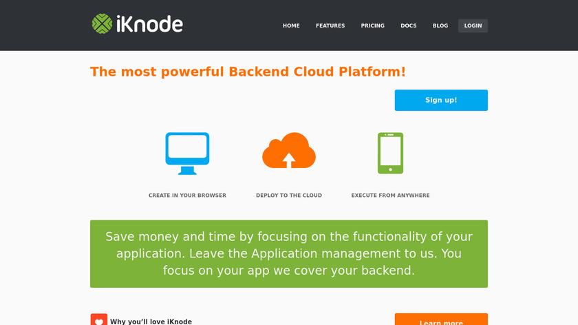 iKnode Landing Page