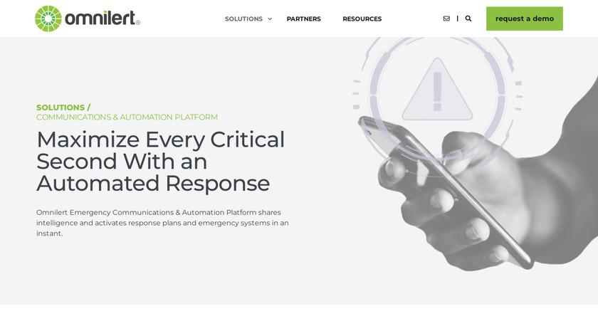 e2Campus uAlert Landing Page
