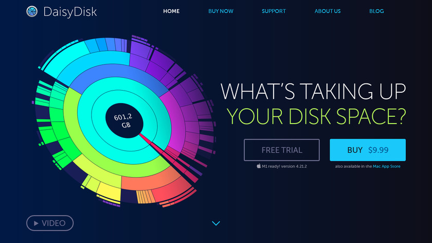 DaisyDisk Landing Page