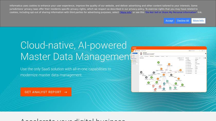 Informatica MDM Landing Page