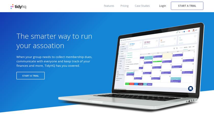 TidyHQ Landing Page