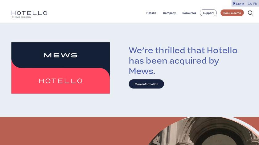 Hotello - PMS Landing Page