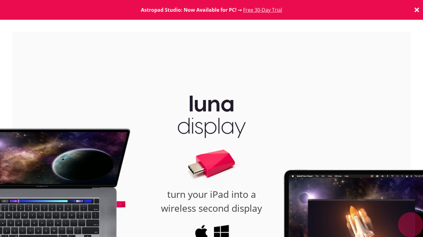 Astropad Landing Page