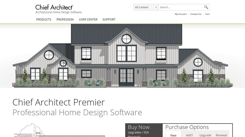 Chief Architect Premier Landing Page