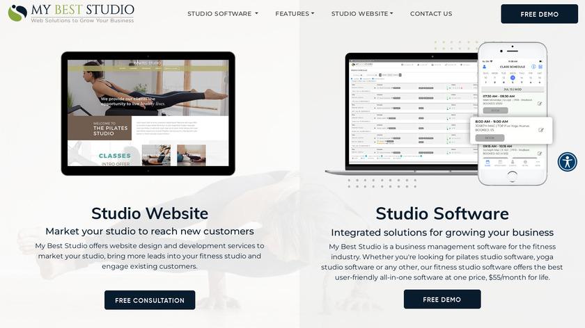 My Best Studio Landing Page