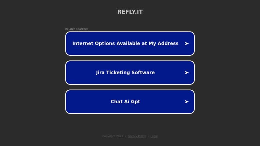 Refly Editor Landing Page