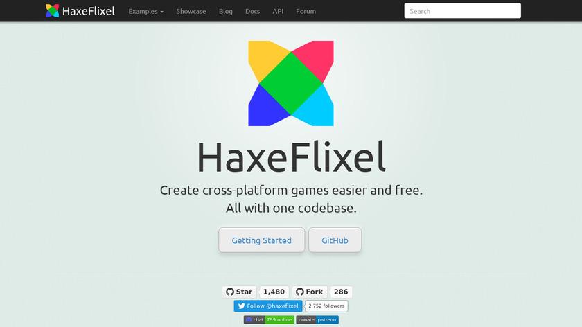 HaxeFlixel Landing Page