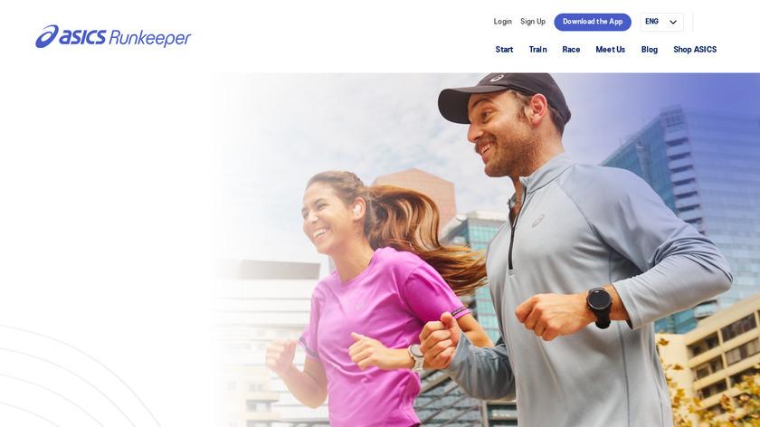 RunKeeper Landing Page