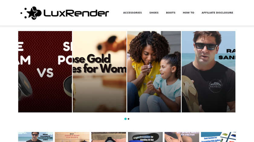 LuxRender Landing Page