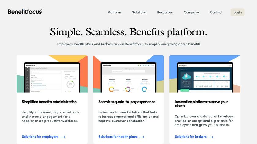 Benefitfocus Landing Page
