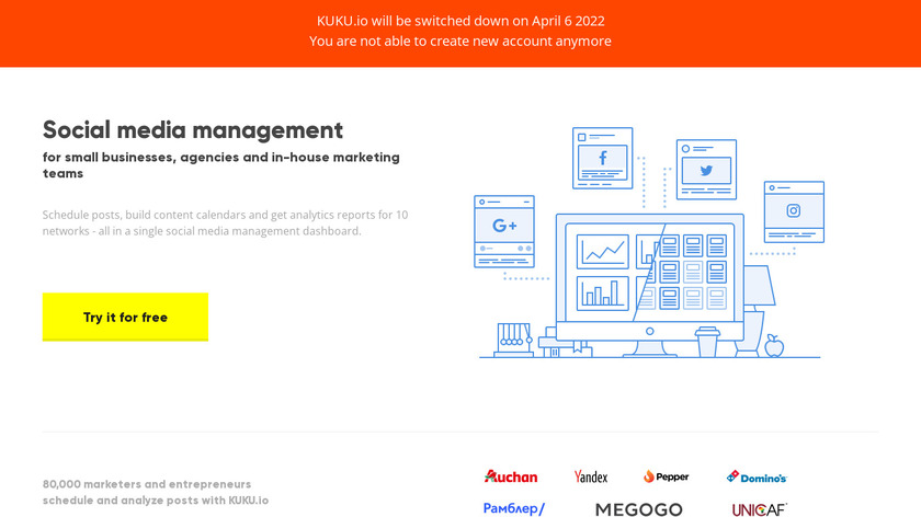 KUKU Landing Page
