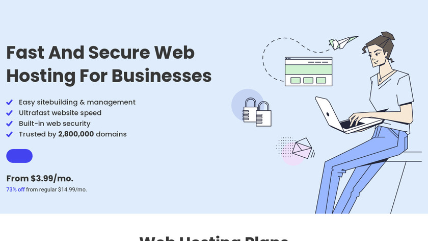 SiteGround Web Hosting Landing Page