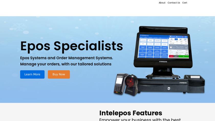Intelepos Landing Page