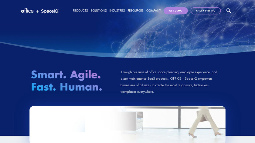 iOffice IWMS Landing Page