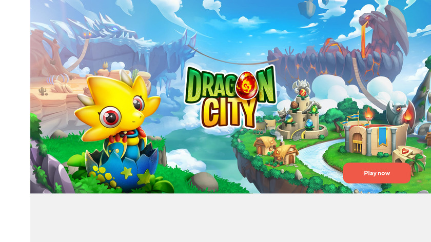 Dragon City Landing Page