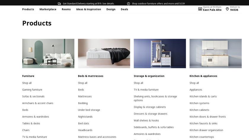 IKEA 365+ Landing Page