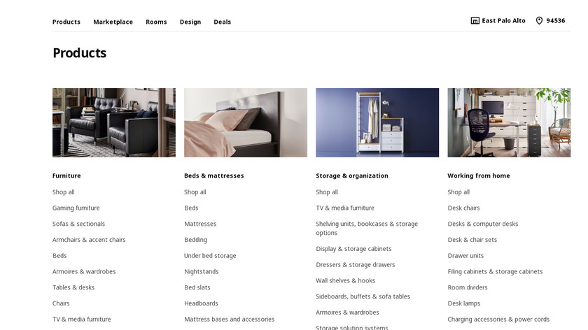 IKEA POLERAD Landing Page