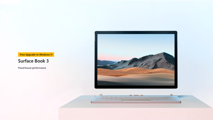 Microsoft Surface Book 2 (15-inch) Landing Page