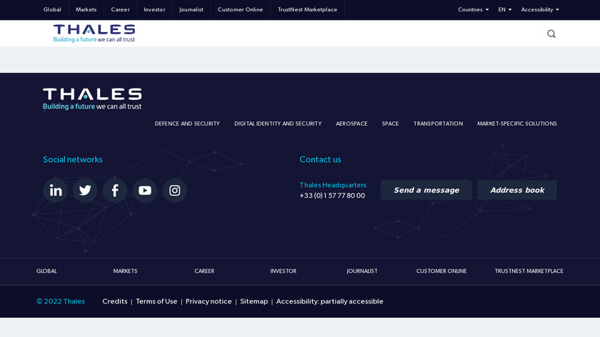 Gemalto Enterprise Encryption Landing Page