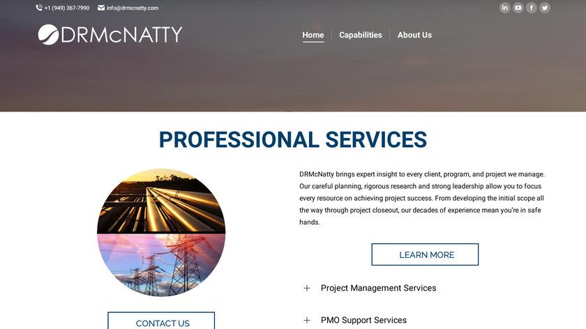 DRMcNatty & Associates Landing Page