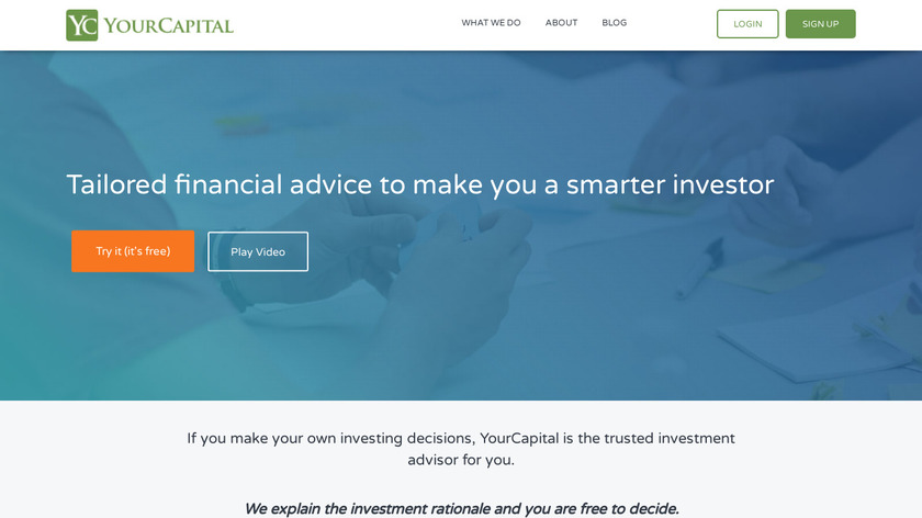 YourCapital Landing Page