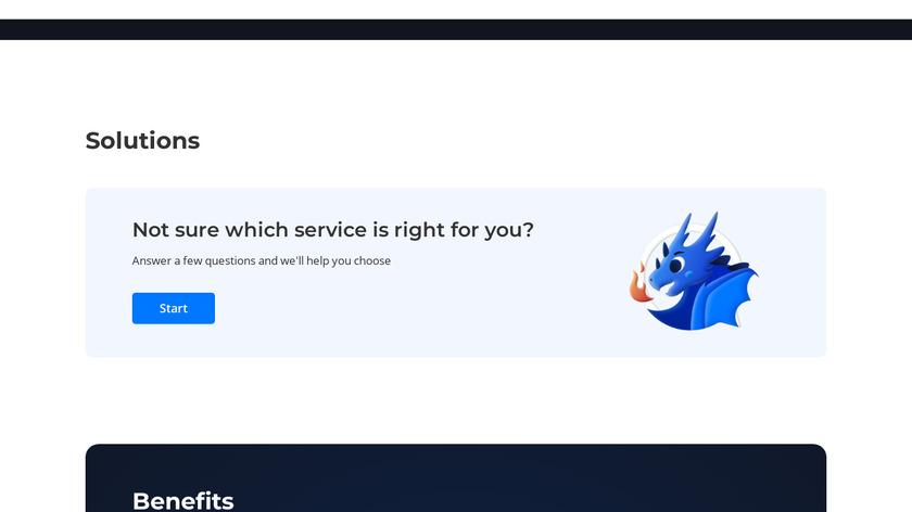 DDoS-GUARD Landing Page