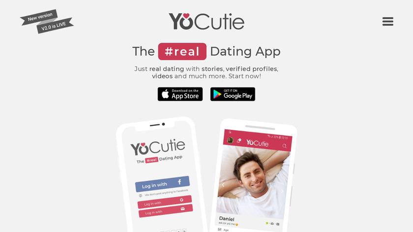 YoCutie Landing Page