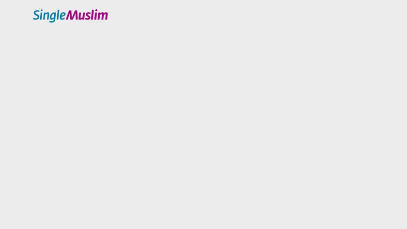 SingleMuslim.com Landing Page
