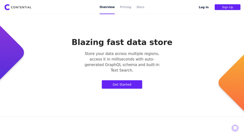 Contential Landing Page