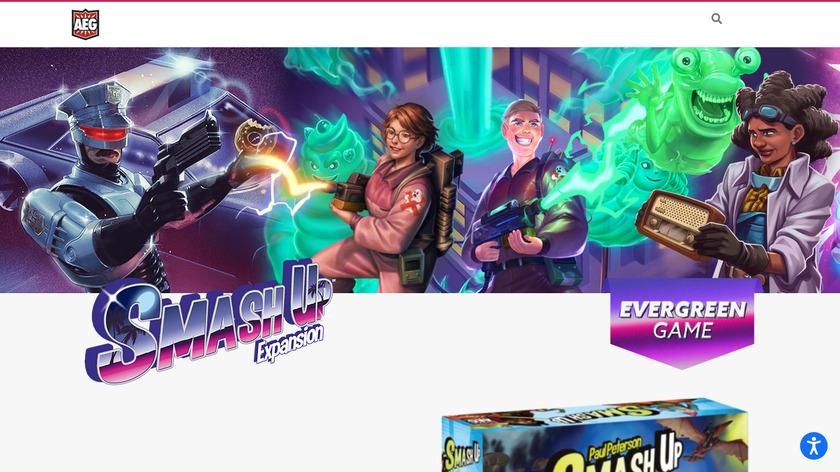 Smash Up Landing Page