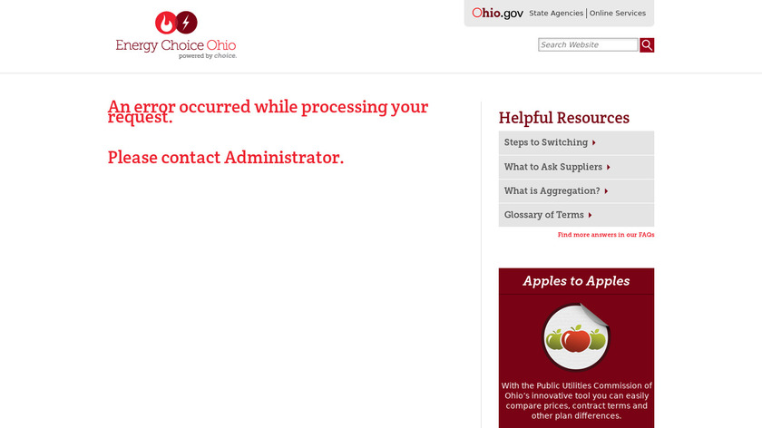 Apples to Apples Landing Page