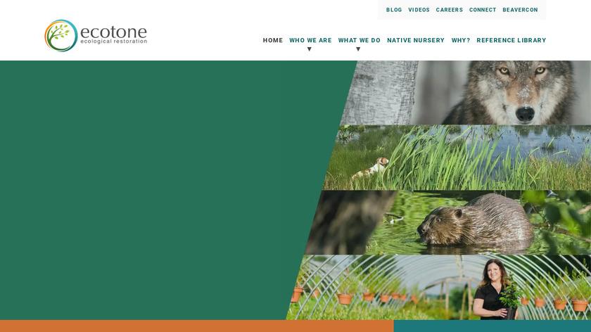 Ecotone Landing Page