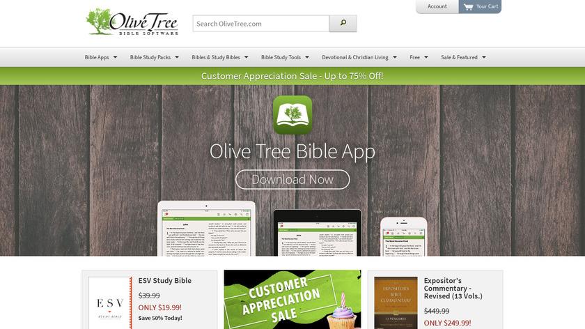 Olive Tree Bible Study Landing Page