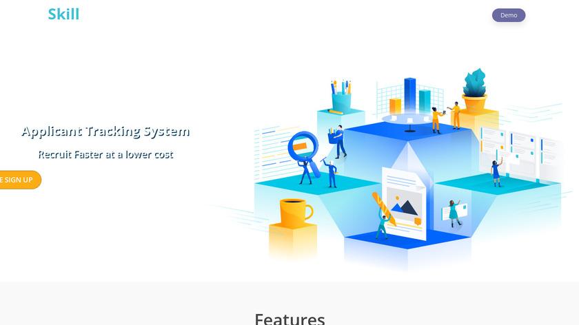 SkillMirror Landing Page