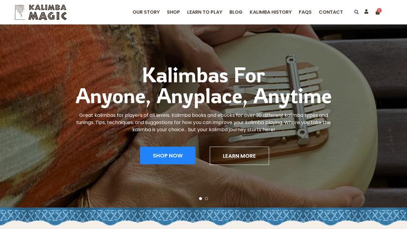 Kalimba Landing Page