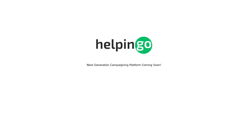Helpingo Landing Page
