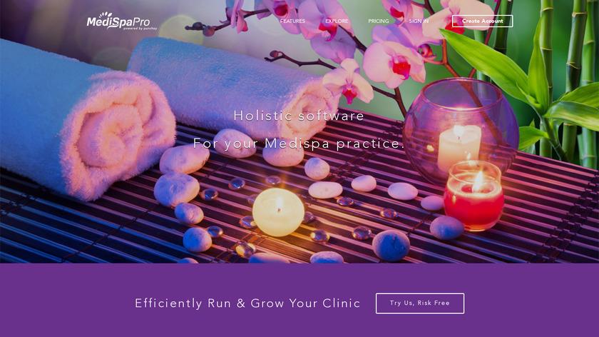 MediSpaPro Landing Page