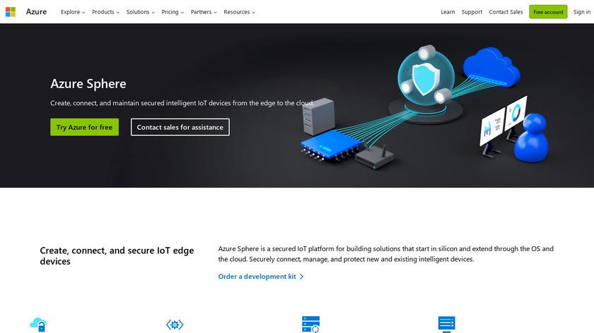 Azure Sphere Landing Page
