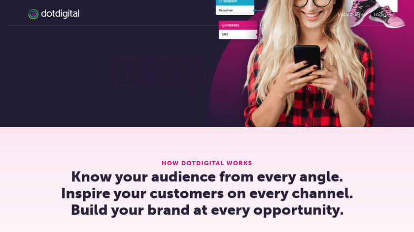 dotdigital Engagement Cloud Landing Page