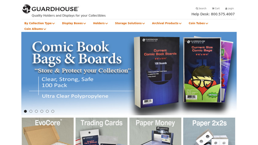 Guardhouse Landing Page