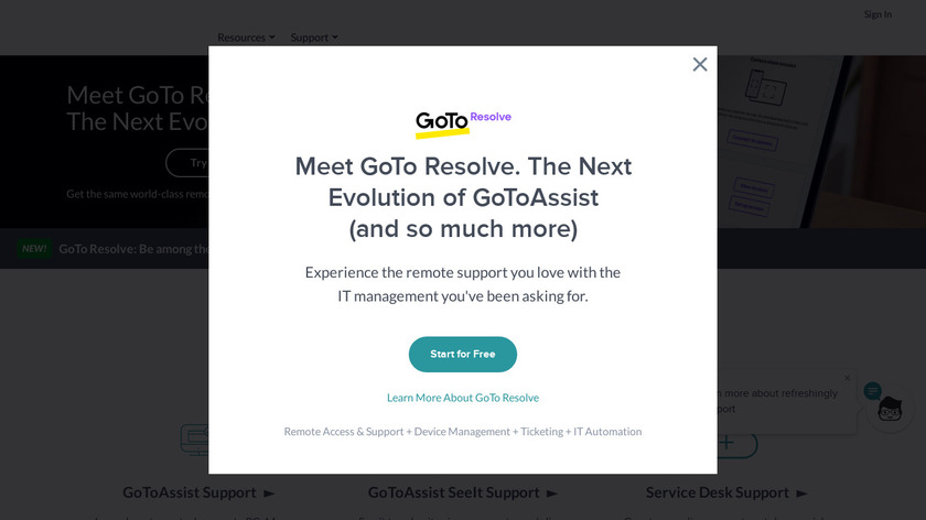 RescueAssist Landing Page
