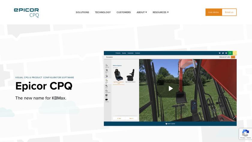 KBMax Landing Page