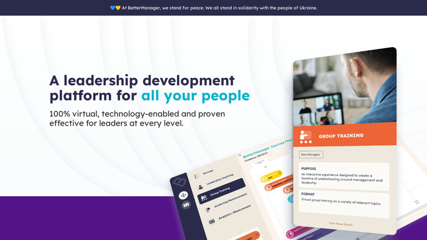 BetterManager Landing Page