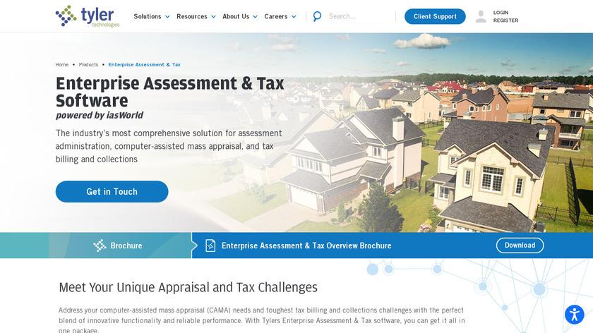 iasWorld Landing Page