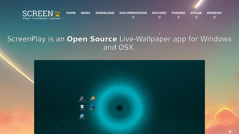 ScreenPlay Landing Page