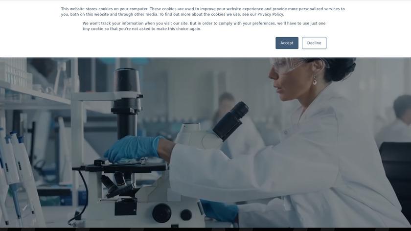 Prendio For Biotech Landing Page